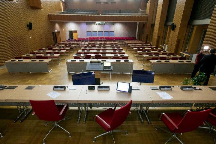 Eklat im Rat: So früh wie noch nie war der komplette Saal leer.