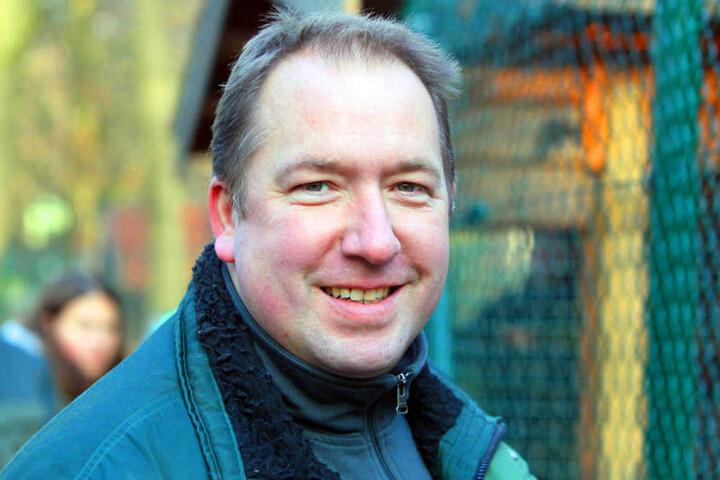 Tierparkleiter Thorsten Dodt würde sich über Nachwuchs freuen. Schon im April 2017 könnte es soweit sein.