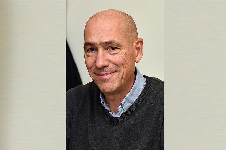 Kämpft für die alten Funzeln: Stadtrat Thomas Blümel (53, Bürgerfraktion).