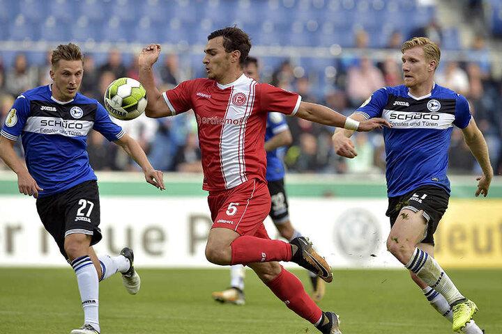 Vertrauen zurückgezahlt: Konstantin Kerschbaumer (li.) und Andreas Voglsammer spielten Montag stark auf.