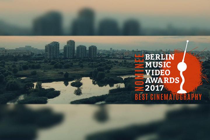 """Mit dem Video zu Sidos """"Geuner"""" war Jorge Becker für den Berlin Music Video Award 2017 in der Kategorie """"Beste Kamera"""" nominiert."""