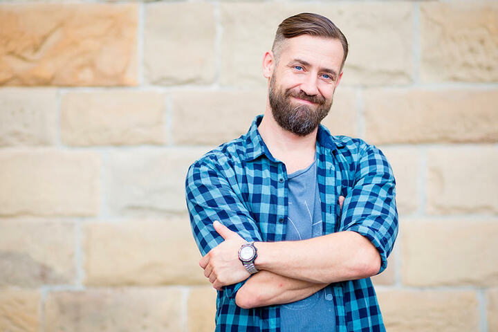Bürger Lars Dietrich (43) outete sich als Fan von Raumfahrtpionier Sigmund Jähn.