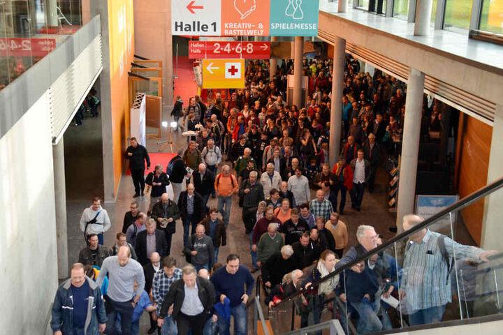Insgesamt erwarten die Veranstalter dieses Jahr über 120.000 Besucher.