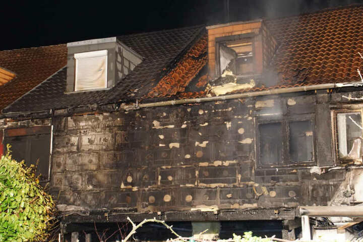 Das Haus, in dem das Feuer ausbrach. Der Schaden wird insgesamt auf rund 600.000 Euro geschätzt.