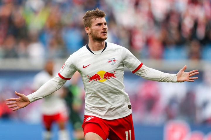 Sechstes Tor im achten Ligaspiel: Timo Werner ist nach Robert Lewandowski (12) der treffsicherste Bundesliga-Akteur.
