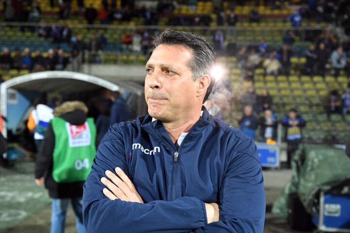 Der Trainer des KSC, Alois Schwartz.