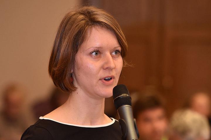 Linken-Stadträtin Pia Barkow (31).