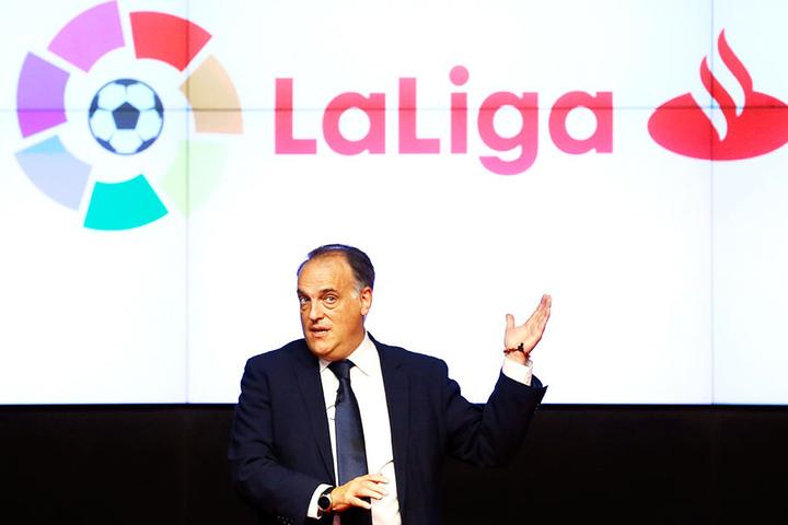 LaLiga-Präsident Javier Tebas hat einen großen Deal für Spaniens Eliteklasse abgeschlossen.