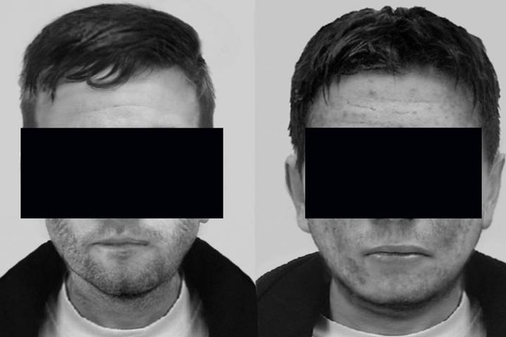 Die Krefelder Kripo suchte mit zwei Phantombilder nach den Tätern.