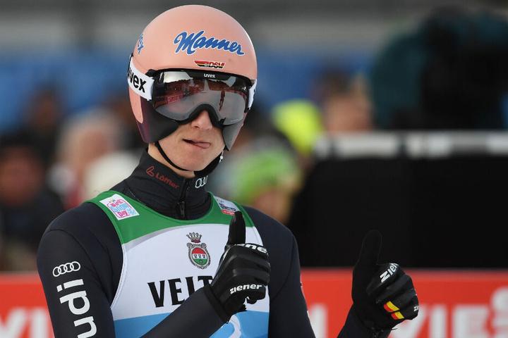 Bei der Qualifikation am Vortag landete Geiger auf Platz 1.