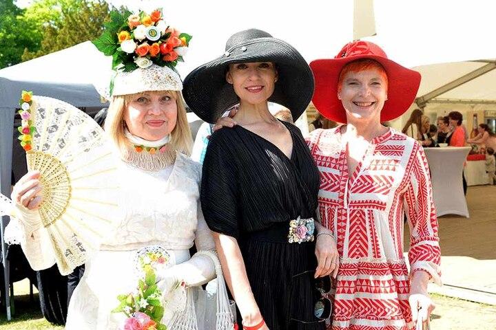 Die drei von der Jury: Katharina Dietrich, Lidia Valenta, Katrin Koch (v.l.).