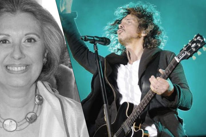 Laura Biagiotti und Chris Cornell.