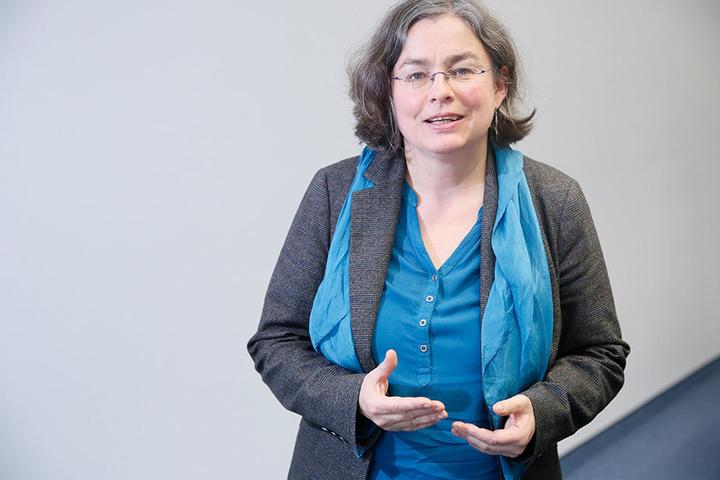 Umwelt-BM Eva Jähnigen (51) ist für Baumfällungen im Stadtgebiet verantwortlich.