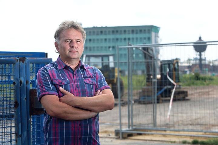 Lutz Reinhold (53) kämpft seit Monaten gegen den geplanten Super-Knast.