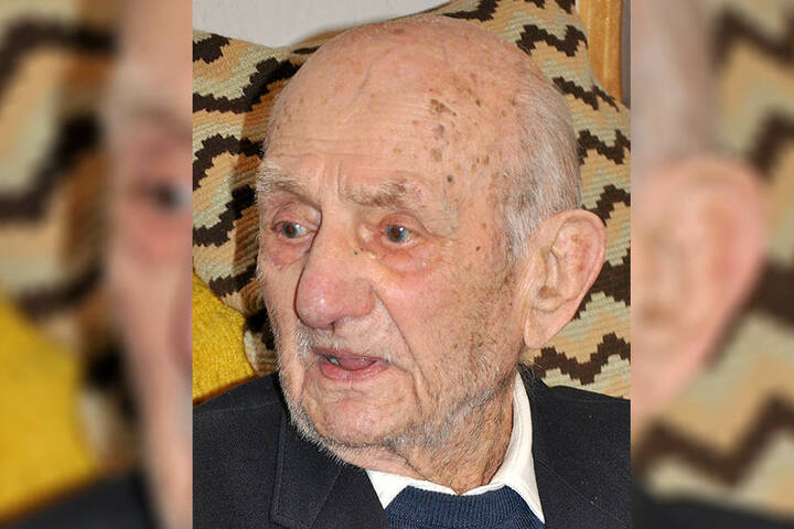 Gustav Gerneth ist der älteste Mann Deutschlands.