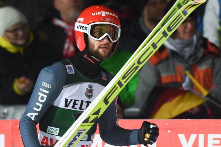 """Die deutschen Skispringer rund um Weltmeister Markus Eisenbichler wurden als """"Mannschaft des Jahres"""" ausgezeichnet."""