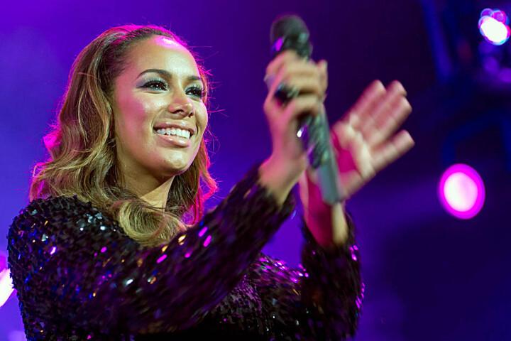 """Bei der Show """"The X Factor"""" gelang der britischen Sängerin der Durchbruch."""