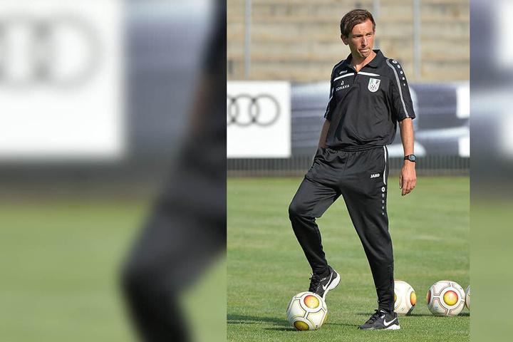 André Meyer ist aktuell Trainer bei Union Fürstenwalde. Schlägt er nun in Aue als Assistenzcoach seines Bruders Daniel auf?