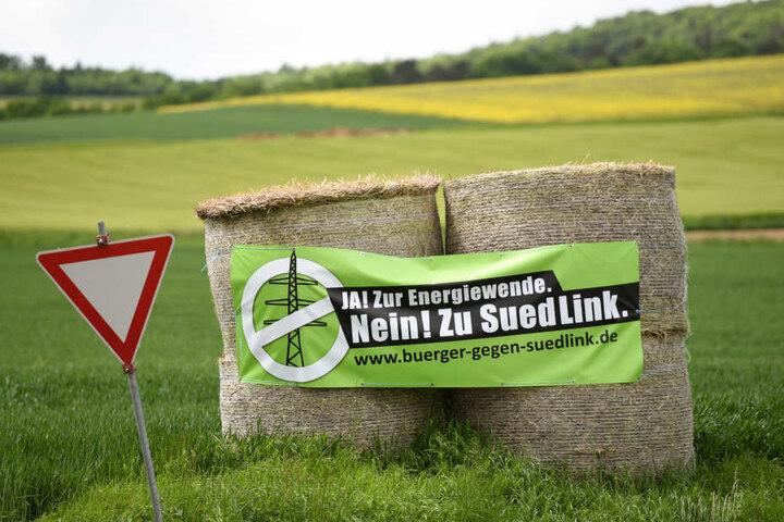 Auch in anderen Gebieten, wie in Fritzlar (Hessen) wird gegen die geplante Stromtrasse protestiert.