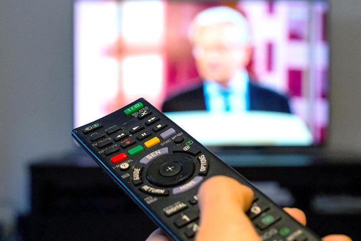 Mit Fernsehen verbrachten Familienmitglieder den Großteil des Tages.