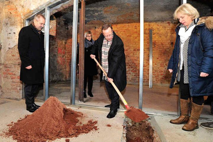 Hier wird der Grundstein für 86 neue Heimplätze gelegt.