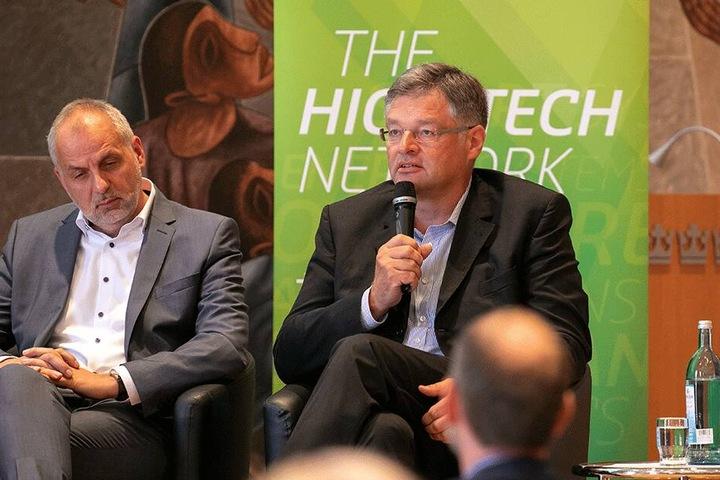 Rico Gebhardt (56, Linke, l.) und Holger Zastrow (50, FDP).