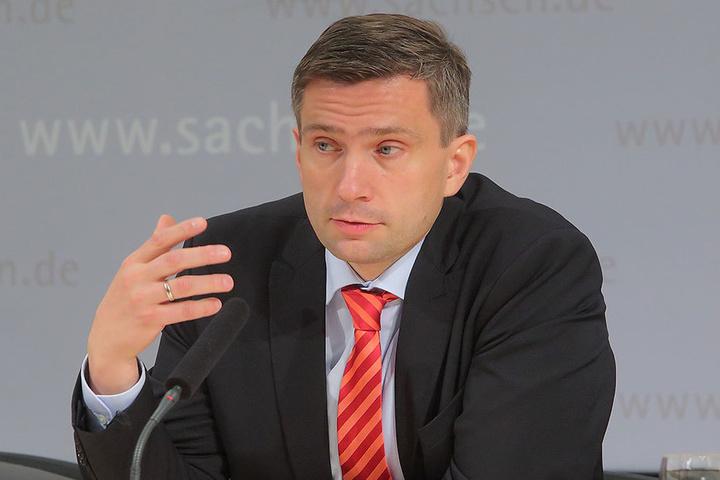 Wirtschaftsminister Martin Dulig (43, SPD).