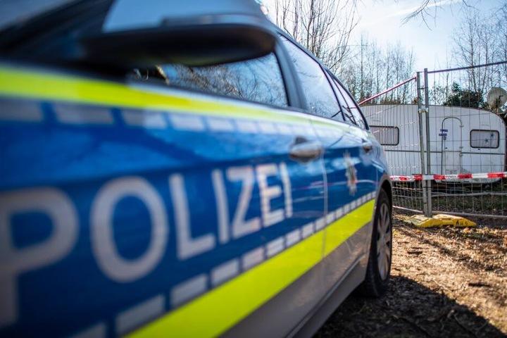 Die Polizei sperrte Teile des Campingplatzes.