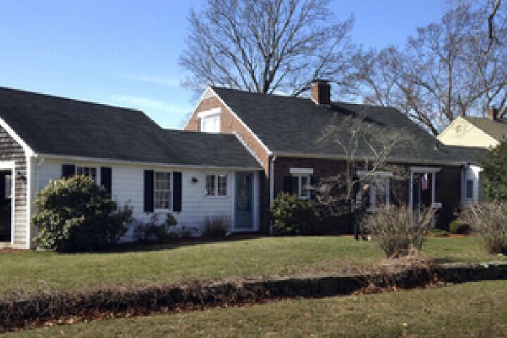 Das Haus von Jean Haley in Barrington, wo das Unglück geschah.