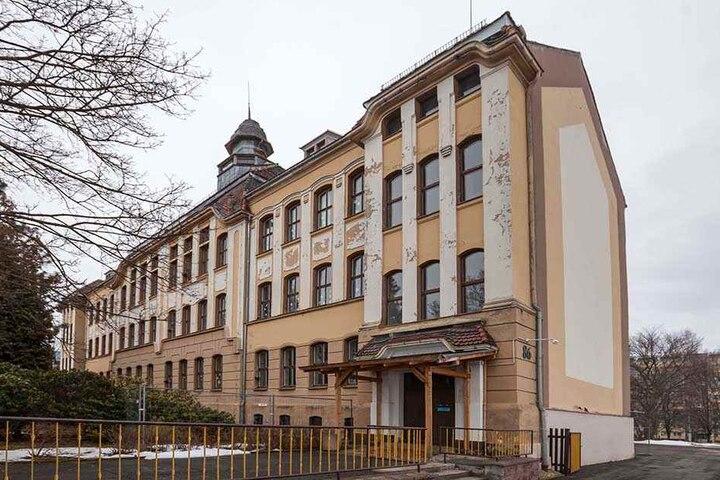 """Die Sprachheilschule """"Anne Frank"""", die ehemalige Goetheschule, braucht einen Neubau."""