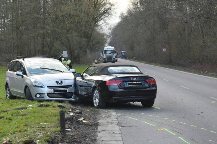 Der Unfall ereignete sich auf dem Militärring in Köln-Longerich.