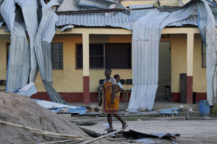 Bewohner der betroffenen Region im südlichen Afrika haben ihr Zuhause verloren.
