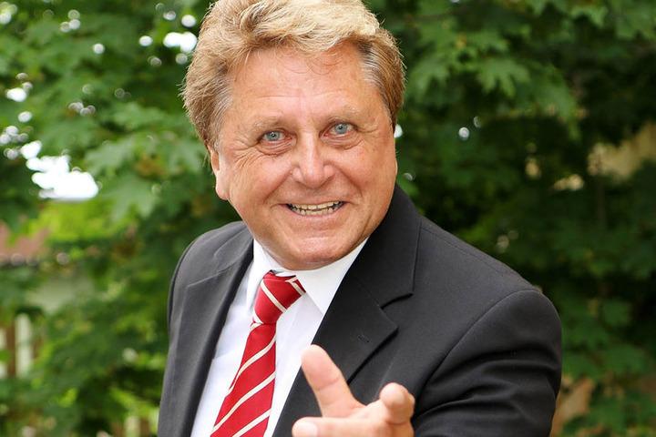 Hans-Jürgen Beyer (68) ist ein Sonnyboy durch und durch.
