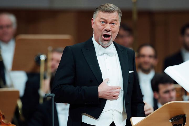 Live zu erleben: Der Dresdner Bass René Pape (54).