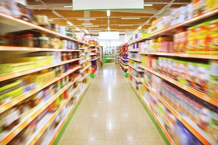 In einem Supermarkt in Glauchau kam es zu einer Messer-Attacke (Symbolbild).