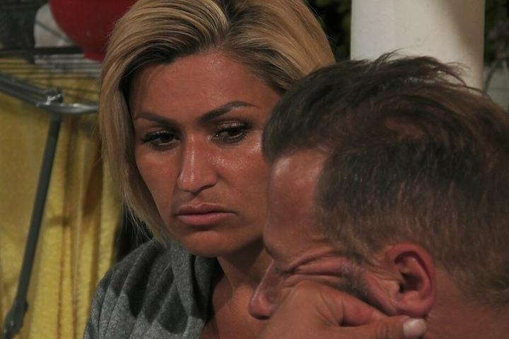 Jasmin Herren (40) ist sichtlich sauer.