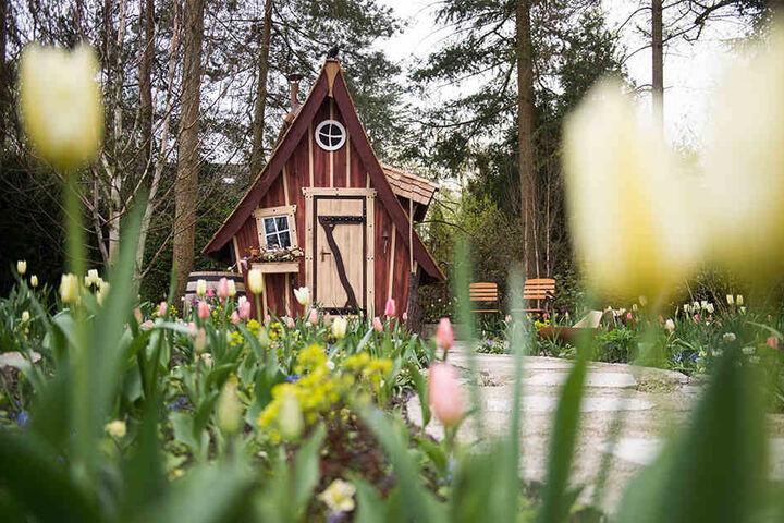 Solch besonders verzierte Gartenhäuser gab es in Bad Lippspringe zu sehen.