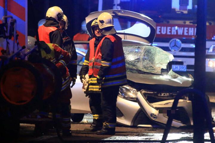 Der Autofahrer hatte wohl mehr als einen Schutzengel.