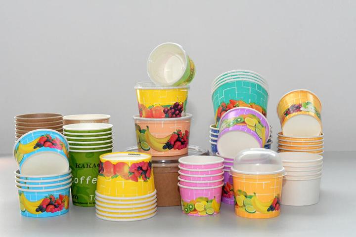 280 Millionen recyclebare Papierbecher produziert die Firma pro Jahr.