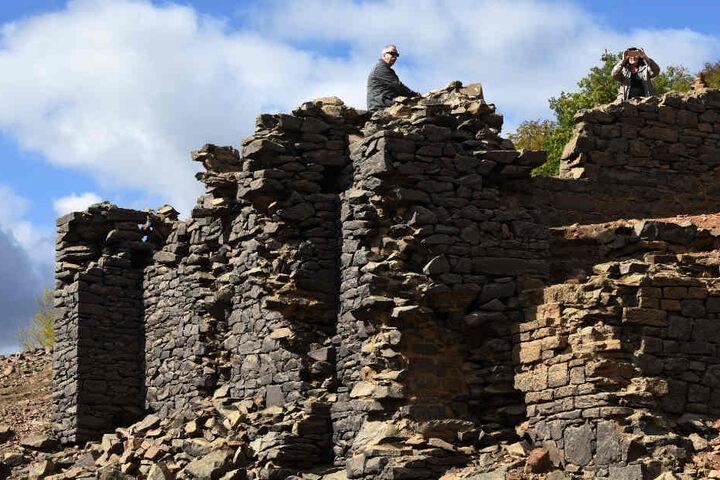 Für Touristen sind die Ruinen im Edersee eine echte Attraktion.