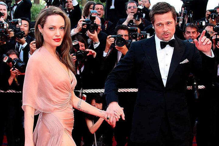 Die US-Schauspieler Brad Pitt und Angelina Jolie gehen mittlerweile getrennte Wege.