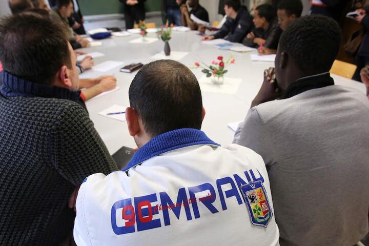 Deutschkurse für Flüchtlinge leisten einen wichtigen Beitrag zur Integration.
