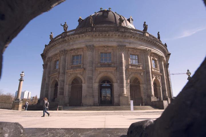 Das Berliner Bodemuseum aus dem die riesige Goldmünze verschwand.