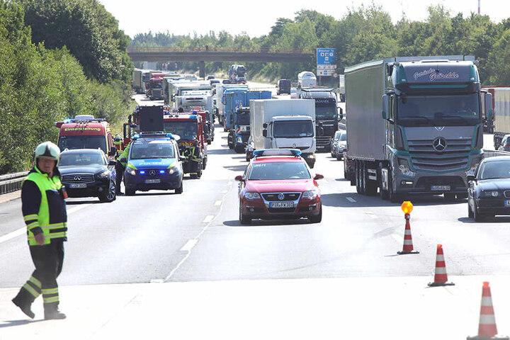 Stau, wohin das Auge reicht. Ein Anblick, an den sich Autofahrer auf der A4 am Donnerstagmorgen gewöhnen mussten.