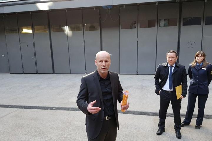 Leiter des Einruchskommissariats Jürgen Leistner (50).