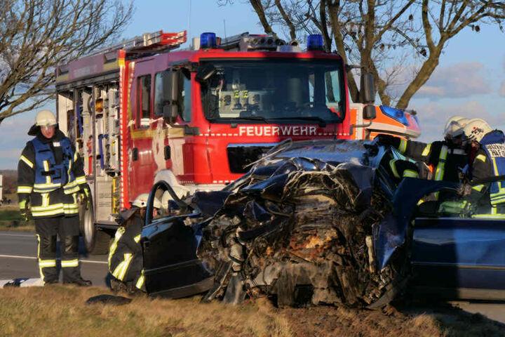 Während der Unfallaufnahme war die Geseker Straße gesperrt.