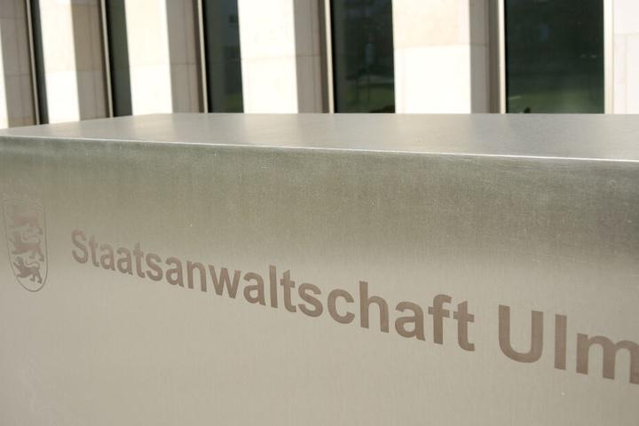 Die Staatsanwaltschaft Ulm ermittelt.