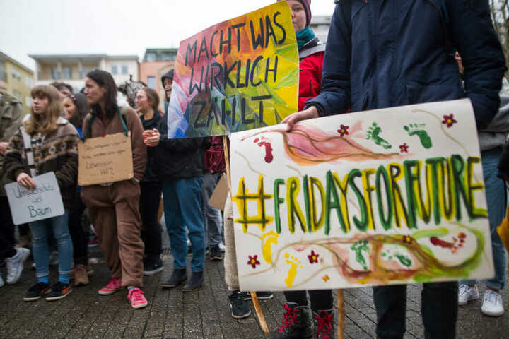 """In anderen deutschen Städten fanden bereits """"Fridays For Future""""-Demos statt."""