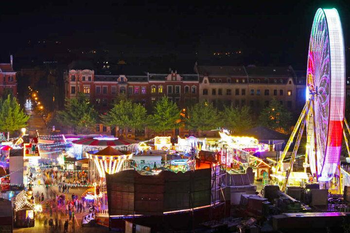 Das Zwickauer Frühlingsvolksfest zählt zu den größten Jahrmärkten in Mitteldeutschland.