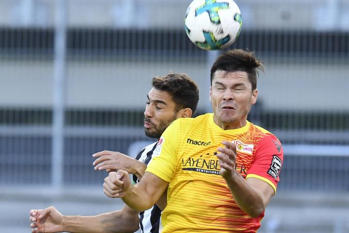 Fabian Schönheim wird wahrscheinlich kein Spiel mehr im Trikot vom 1. FC Union absolvieren.